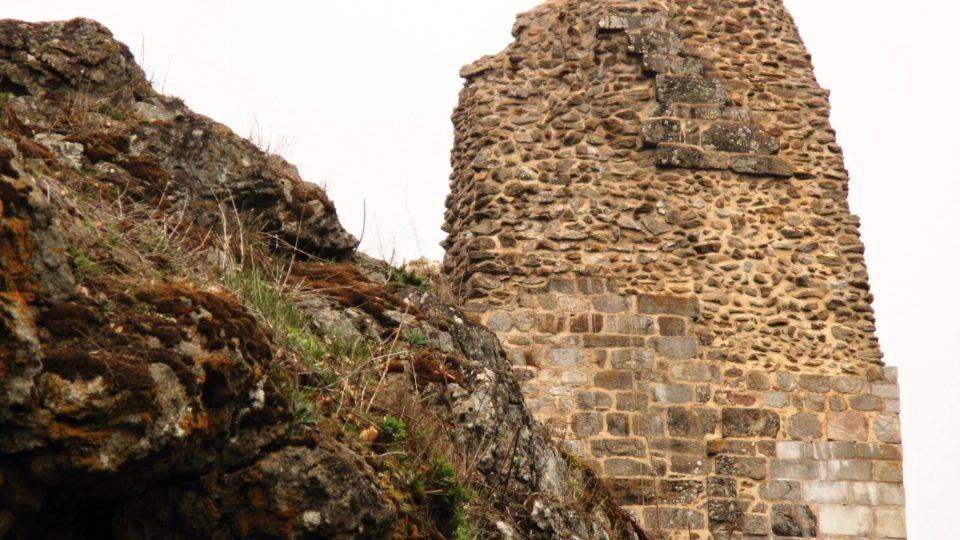Hrad Přimda od počátku také královské vězení