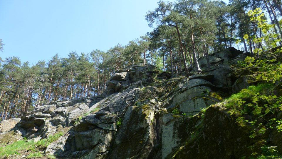 Vyhlídka nad Libušiným údolím