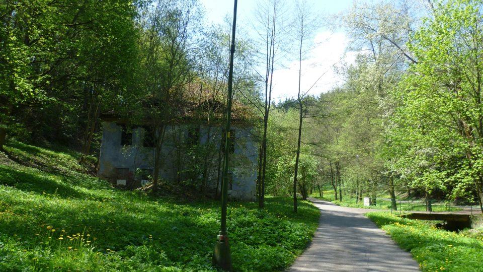 Ruina bývalého Hluchého mlýna