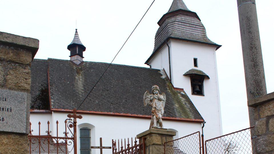 Číhošť, kostel
