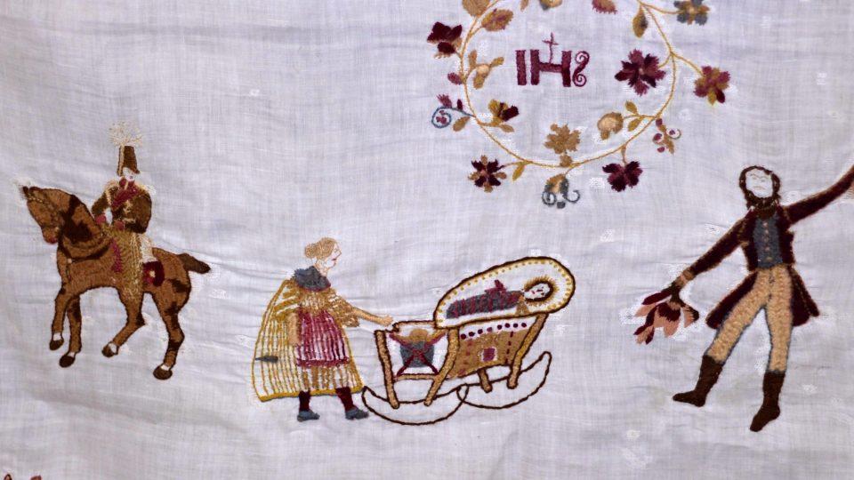 Svatební praporce, Muzeum Vysočiny Telč