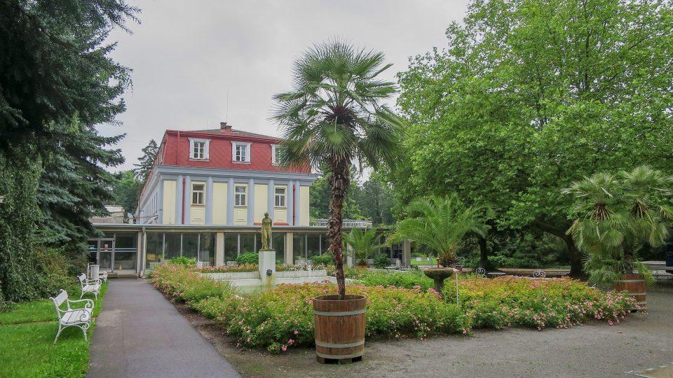 Park Léčebných lázní Bohdaneč