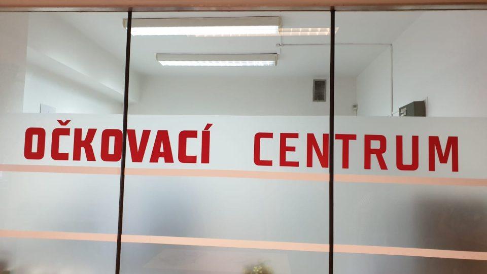 Očkovací centrum Třešť