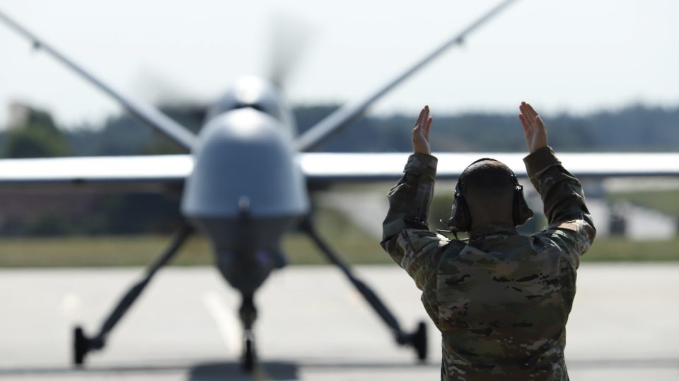 Bojový bezpilotní letoun americké armády Reaper