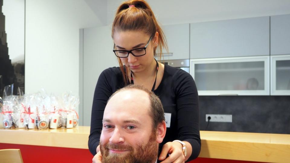 Holení, akce Movember, Přibyslav