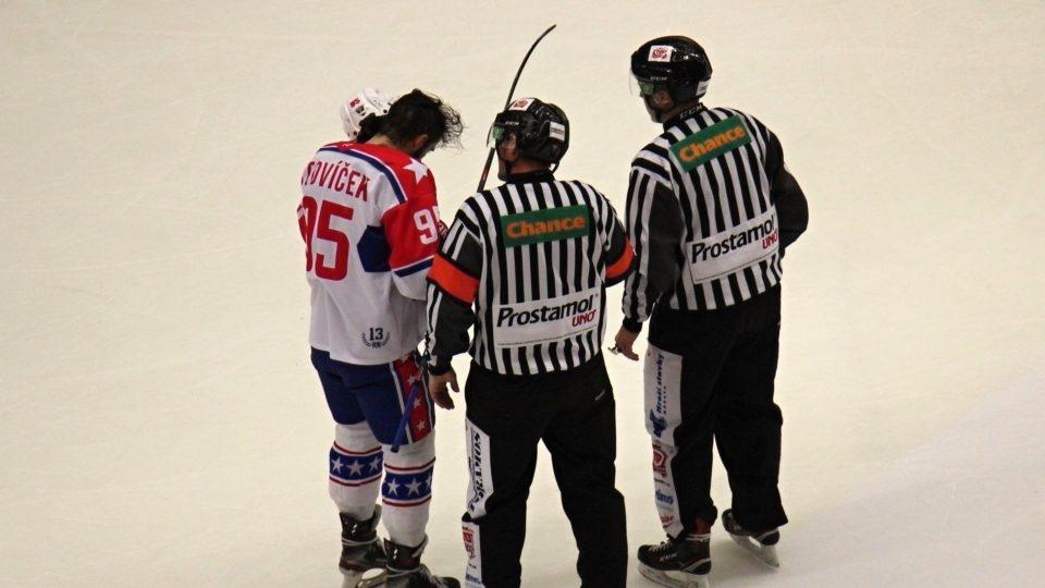 Hokejové derby Jihlava-Třebíč, únor 2021