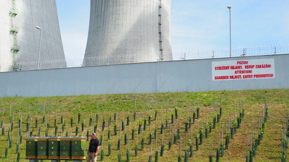 Jaderná elektrárna Dukovany, chov včel