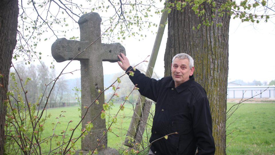 Kříž u Štoků, Vysočina