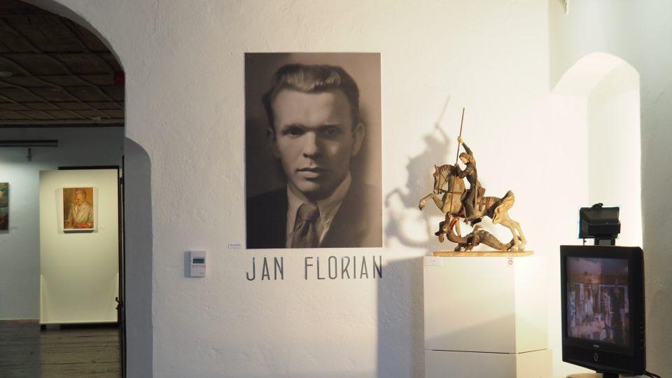 Výstava k výročí narození Jana Floriana, Telč