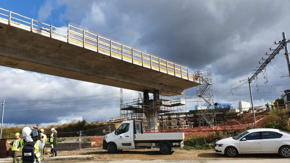 Unikátní konstrukce mostu, obchvat Havlíčkova Brodu