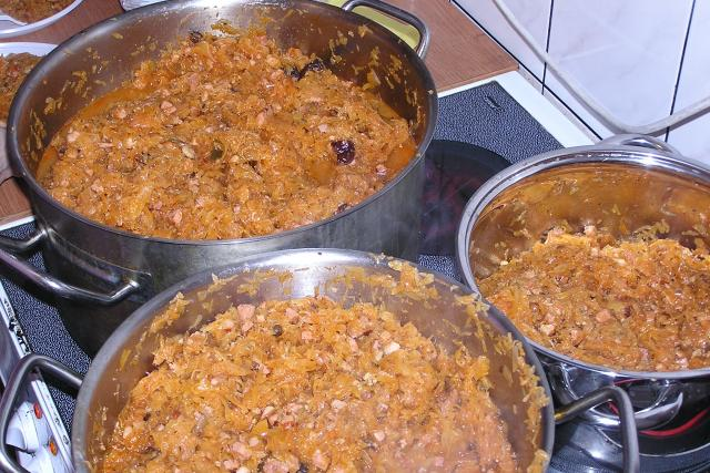 Bigos (tradiční polské jídlo)
