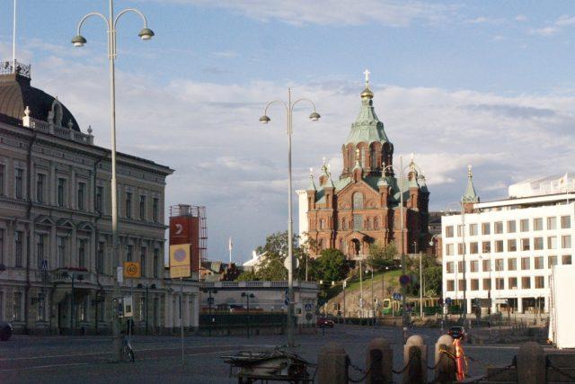 Finsko, Helsinky, pravoslavný kostel
