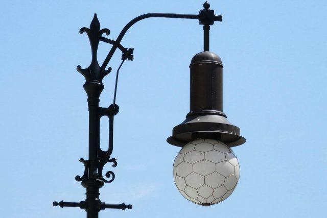 Pouliční světlo | foto: Ladislav Bába