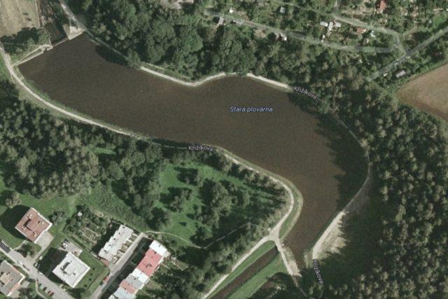 Rybník Stará plovárna v Jihlavě