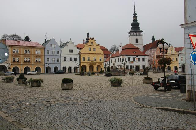 Pelhřimov,  náměstí | foto: Milan Kopecký,  Český rozhlas