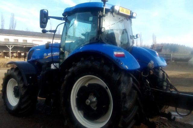 Traktory v Útěchovicích