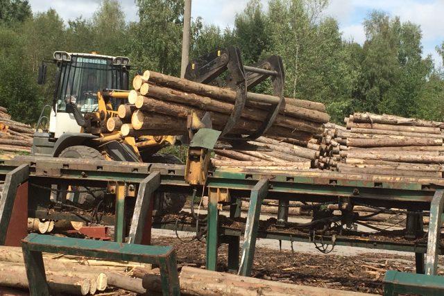 Zpracování dřeva,  ilustrační foto | foto: Olga Štrejbarová