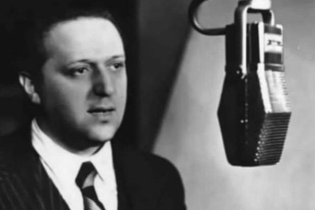 Hugo Haas na smínku z roku 1935