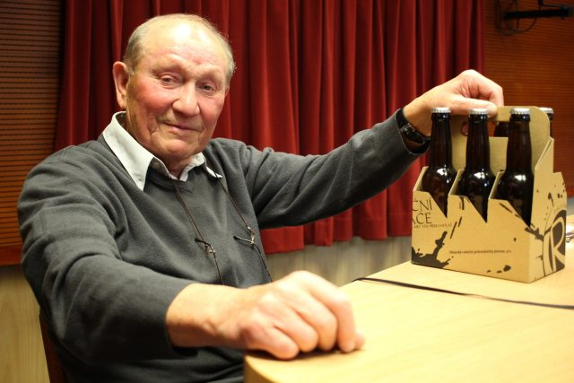 Stanislav Neveselý,  hokejová legenda | foto: Milan Kopecký,  Český rozhlas