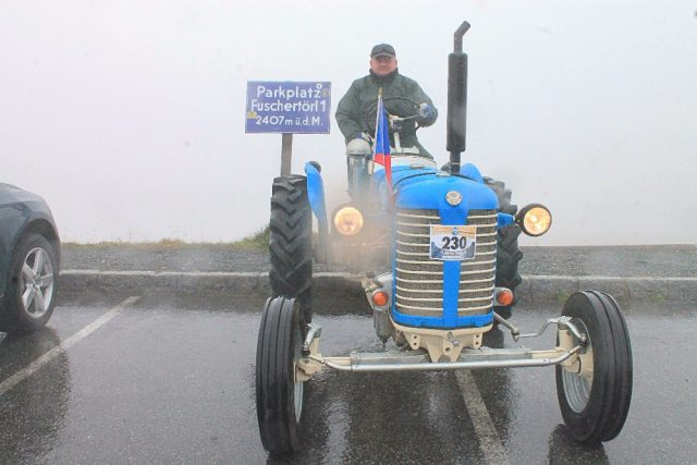 Martin Havelka ze Škrdlovic jede na Grossglockner | foto: Lenka Myšková
