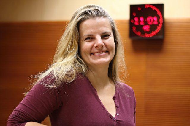 Lenka Schreiberová, herečka Horáckého divadla