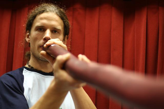 Tomáš Dufek, výrobce perkusních a jiných hudebních nástrojů