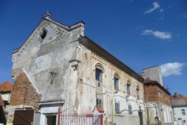 Synagoga, Pacov