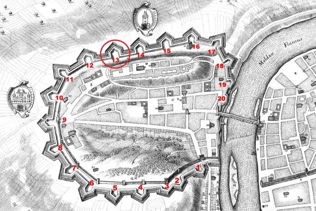 Pražské opevnění