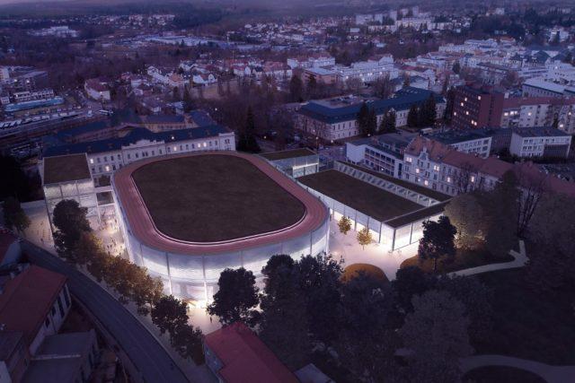 Horácký zimní stadion, návrh přestavby