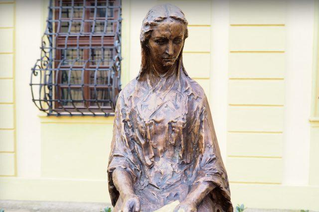 Stopy Boženy Němcové v Polné