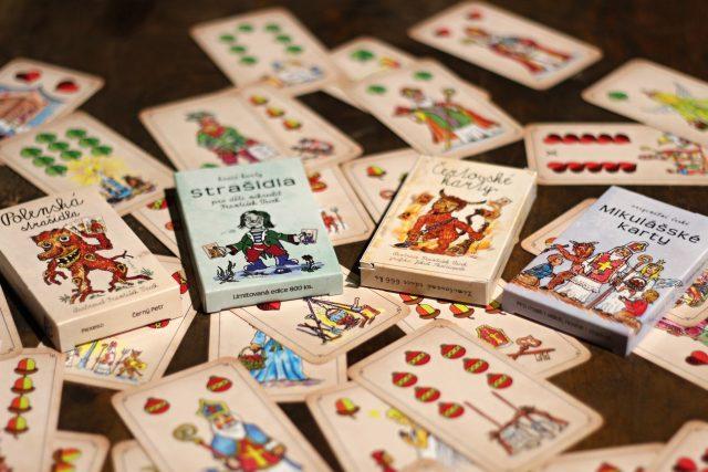 Originální polenské čertovské karty