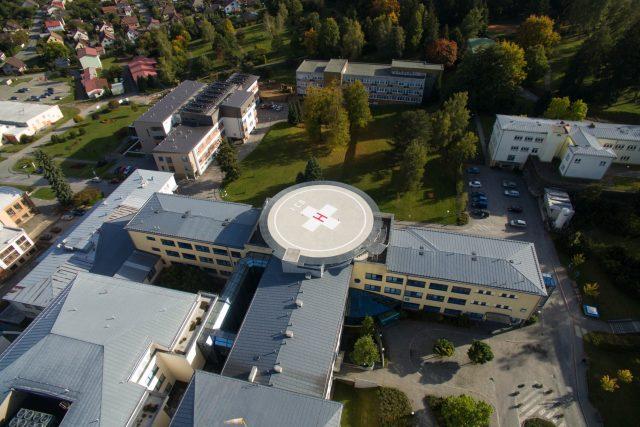 Nemocnice,  Nové Město na Moravě | foto: Tamara Pecková,  Nemocnice,  Nové Město na Moravě