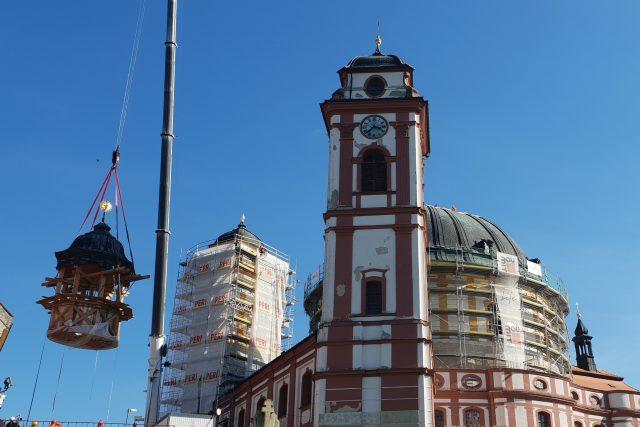 Jaroměřice nad Rokytnou, oprava věže kostela