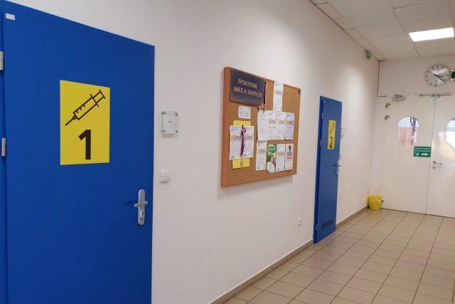 Očkovací centrum,  Chotěboř | foto: Daniela Brychtová,  Český rozhlas