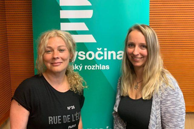Michaela Kulhánková a Martina Hrabalová | foto: Hela Dvořáková,  Český rozhlas