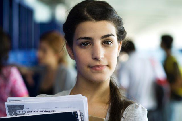 Studentka  (ilustrační foto)   foto: Fotobanka Profimedia