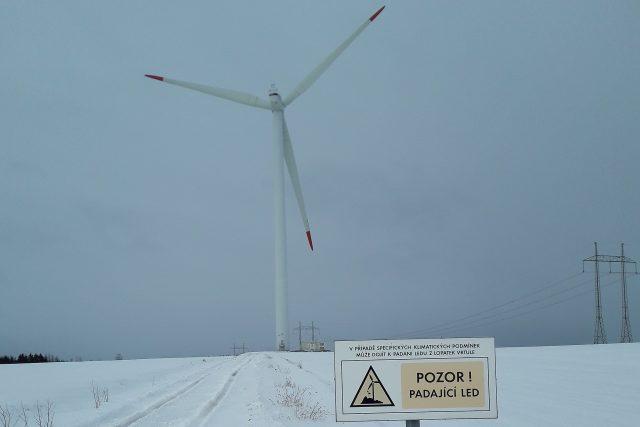 Větrná elektrárna, Věžnice