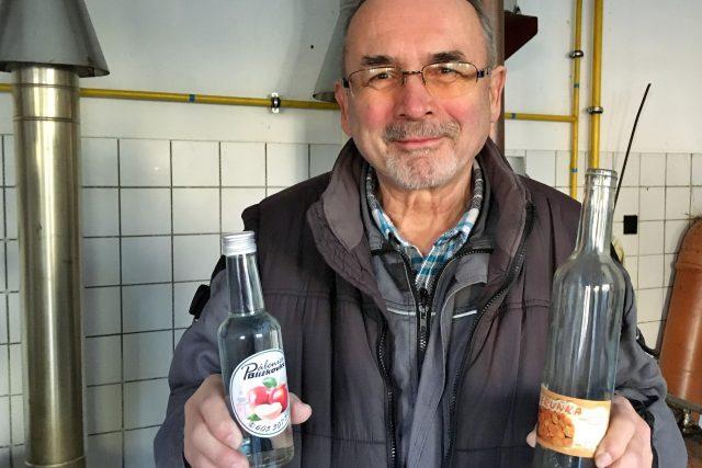 Milan Kudrna, majitel pálenice