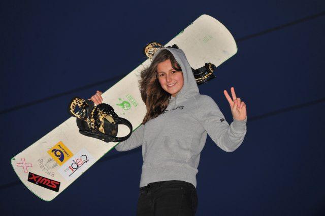 Sára Strnadová, snowboardistka