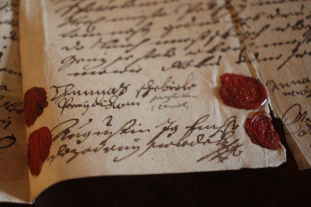 Smlouva o výměnku, Muzeum Vysočiny Pelhřimov