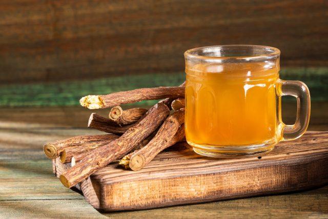 Lékořice, lékořicový čaj