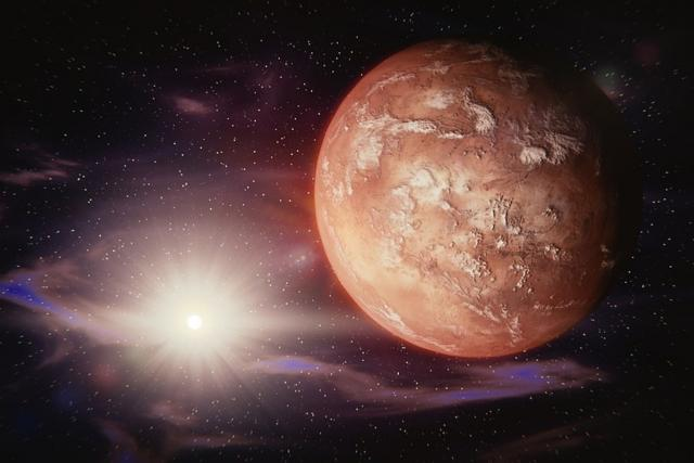 Mars,  vesmír,  planety  (ilustr. foto)   foto:  GooKingSword,  Pixabay