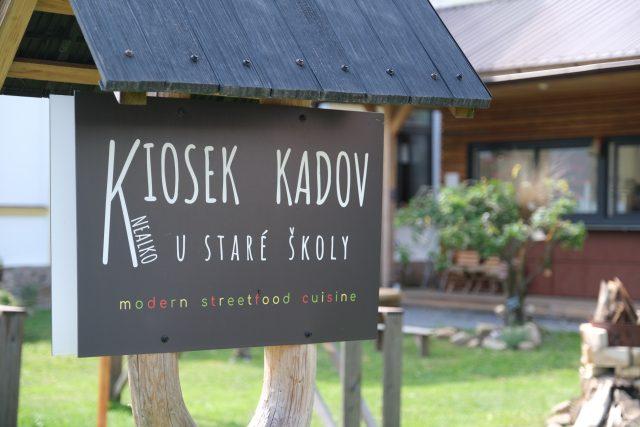 Kiosek U Staré školy,  Kadov   foto: Milan Kopecký,  Český rozhlas