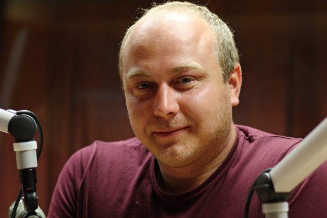 Petr Němec,  vodní záchranář   foto: Milan Kopecký,  Český rozhlas,  Český rozhlas