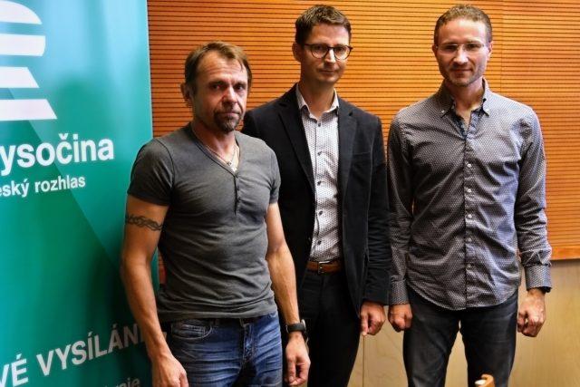 VYSOČINA RUNNING tým, Jiří Marek, Slavomír Koreček, Kamil Chaloupka