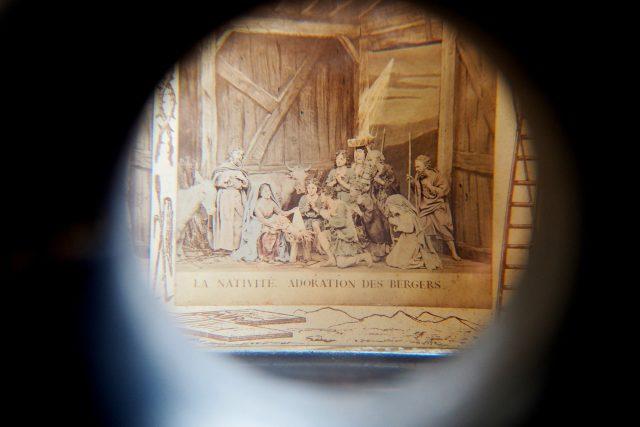 Prohlídková trasa v klášteře Nová Říše,  stereoskop | foto: Dáša Kubíková,  Český rozhlas