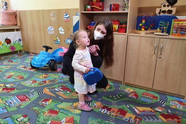 Věznice Světlá n. S.,  otevření oddělení pro matky s malými dětmi | foto: Tereza Pešoutová,  Český rozhlas