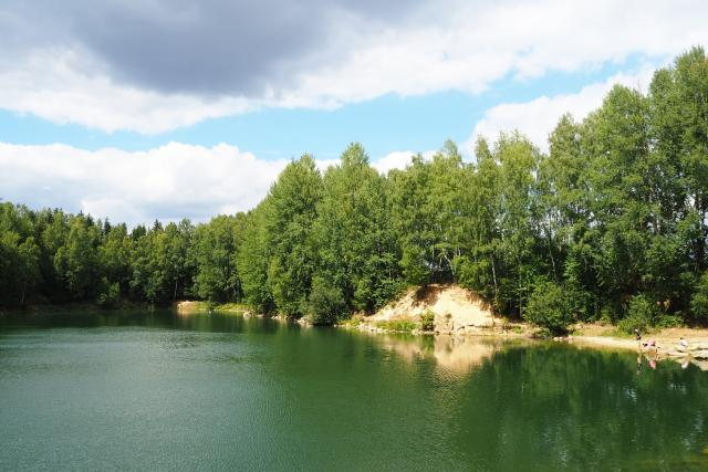 Lom v Čenkově