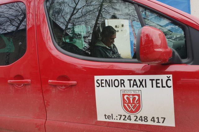 Senior taxi Telč