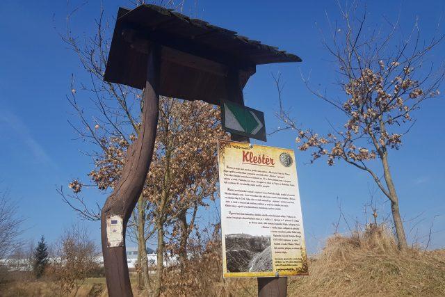 Kleštěr, Polná, součást někdejší obchodní stezky